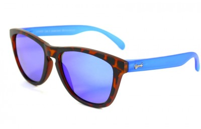 Matt Tortoise - Blue glasses - Blue