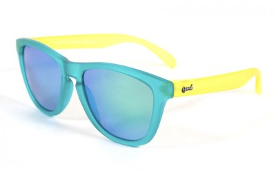 Duck Blue - Green glasses - Yellow