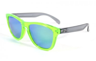 Green - Green glasses - Grey