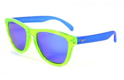 Green - Blue glasses - Blue