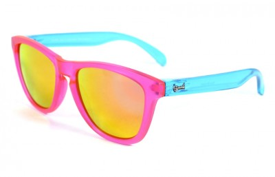Pink - Pink glasses - Light Blue