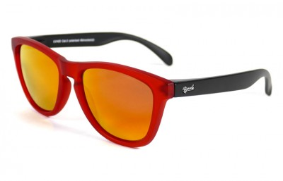 Red - Red fire glasses - Black