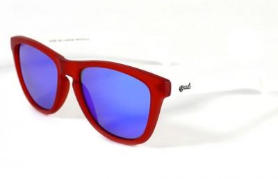 Red - Blue glasses - White
