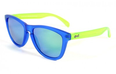 Blue - Green glasses - Green