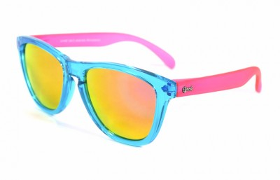 Light Blue - Pink glasses - Pink