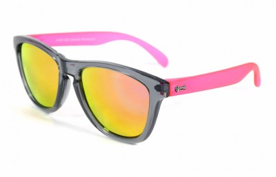 Grey - Pink glasses - Pink