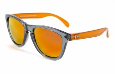 Grey - Red fire glasses - Orange