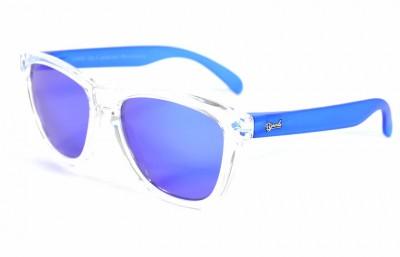 Transparent - Blue glasses - Blue