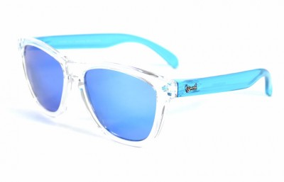 Transparent - Ice blue glasses- Light Blue