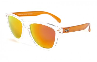 Lunettes de soleil Original Transparent - Verres Red Fire - Orange 29,00 €