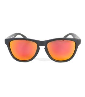 Black - Red fire glasses - Black