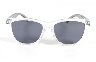 Transparent - Grey glasses - Grey