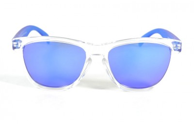 Transparent - Blue glasses - Blue