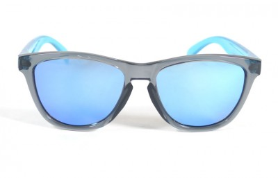 Grey - Ice blue glasses- Light Blue