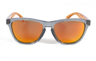 Grey - Red fire glasses - Orange