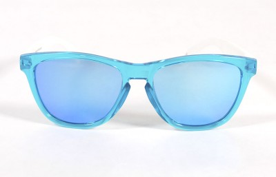 Light Blue - Ice blue glasses- White