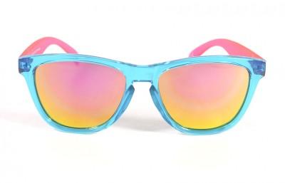 Light Blue - Pink glasses - Pink