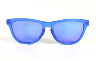 Blue - Blue glasses - White