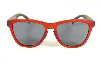 Red - Grey glasses - Black