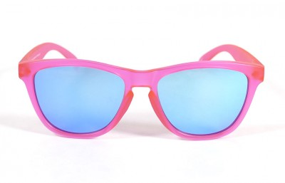 Pink - Ice blue glasses- Pink