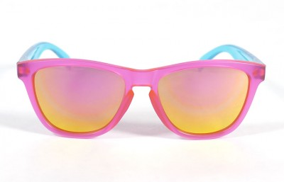 Pink - Pink glasses - Light Blue