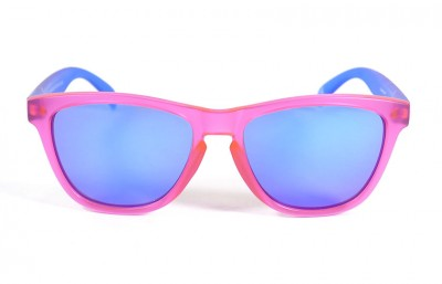 Pink - Blue glasses - Blue