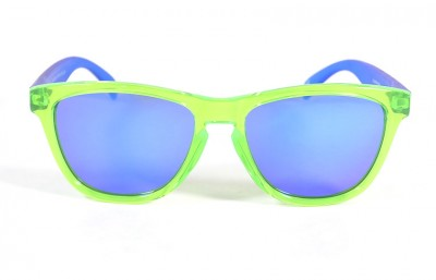 Green - Blue glasses - Blue