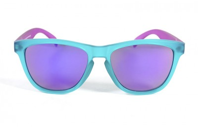 Duck Blue - Violet glasses - Violet