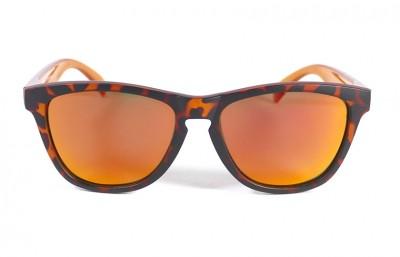 Matt Tortoise - Red fire glasses - Orange