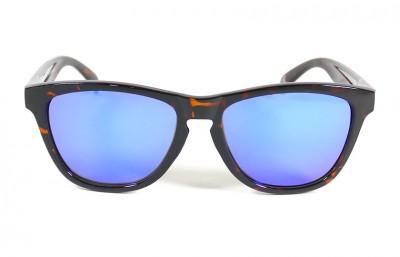 Shiny Tortoise - Blue glasses - Shiny Tortoise