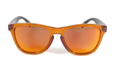 Orange - Red fire glasses - Black