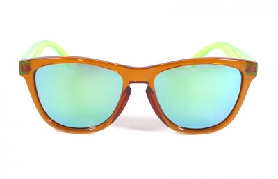 Orange - Green glasses - Green