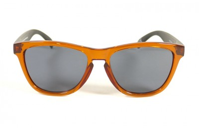 Orange - Grey glasses - Black