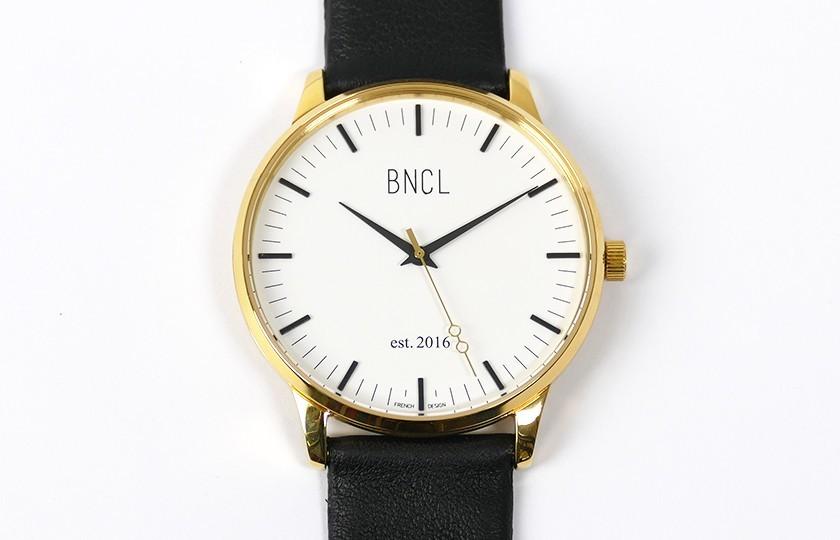 Montres BNCL Or - Blanc - Noir
