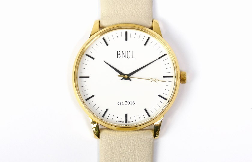 Montres BNCL Or - Blanc - Gris Perle