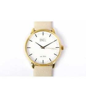 Montres BNCL Or - Blanc - Gris Perle