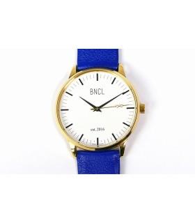 Montres BNCL Or - Blanc - Bleu