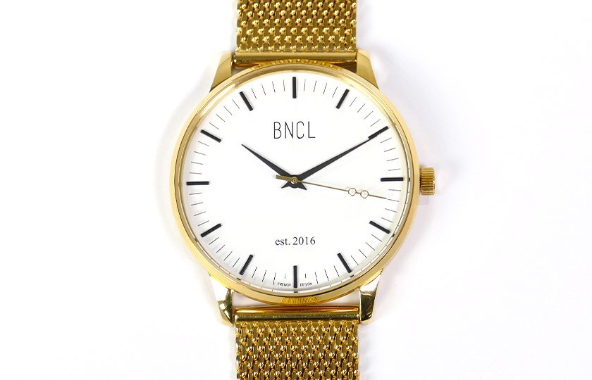 Montres BNCL Or - Blanc - Or
