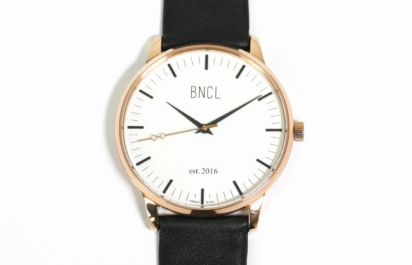 Montres BNCL Or Rose - Blanc - Noir