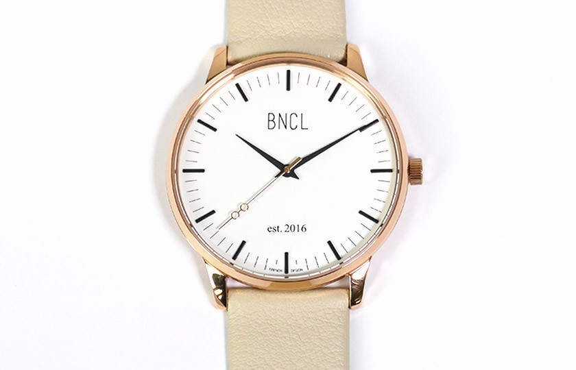 Montres BNCL Or Rose - Blanc - Gris Perle