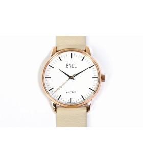 Montres BNCL Or Rose - Blanc - Gris Perle