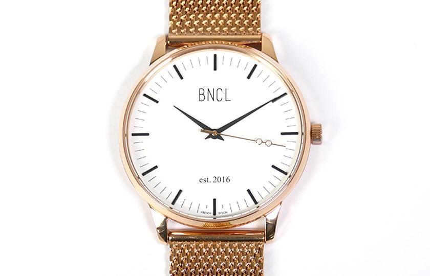 Montres BNCL Or Rose - Blanc - Or Rose