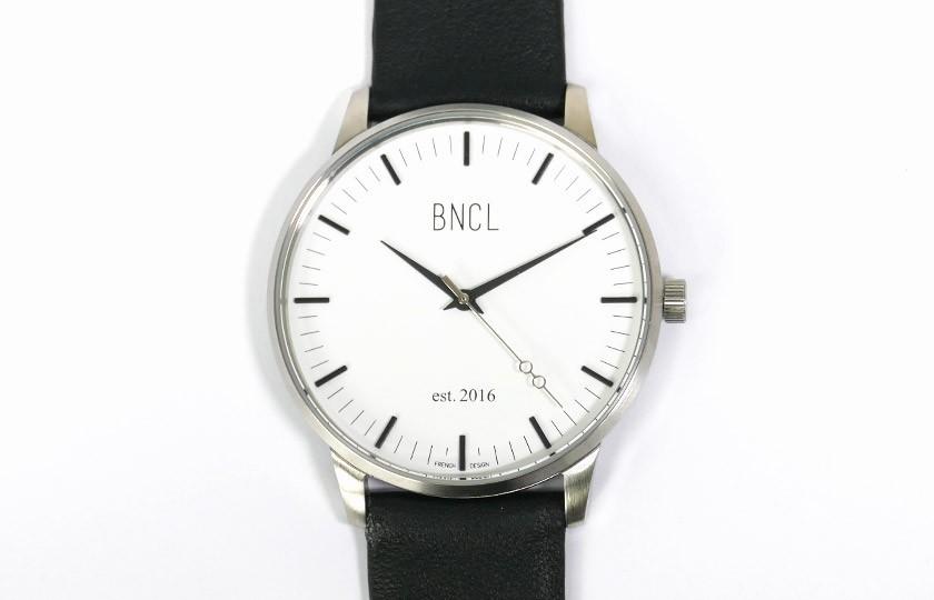 Montres BNCL Argent - Blanc - Noir