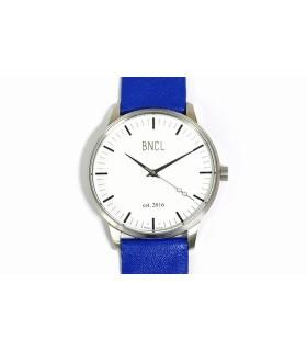 Montres BNCL Argent - Blanc - Bleu