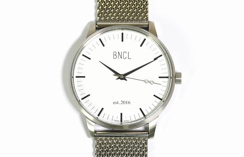 Montres BNCL Argent - Blanc - Argent