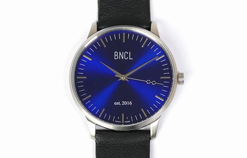 Montres BNCL Argent - Bleu - Noir