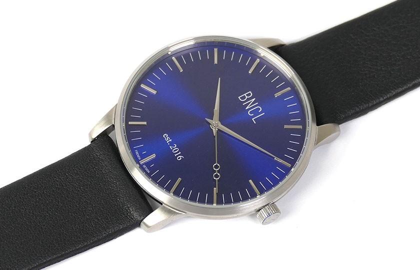 Argent - Bleu - Noir