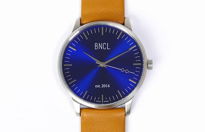 Montres BNCL Argent - Bleu - Camel