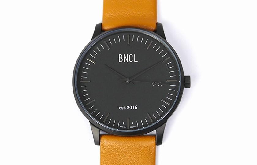 Montres BNCL Noir - Noir - Camel