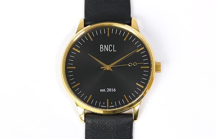 Montres BNCL Or - Noir - Noir